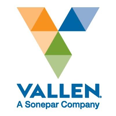 logotipo de la empresa Vallen