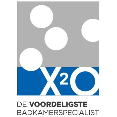 X2O BADKAMERS logo