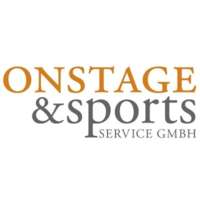 On Stage & Sports Service GmbH-Logo