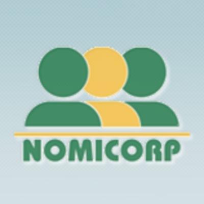 logotipo de la empresa Nomicorp