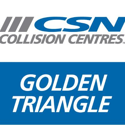 CSN Golden Triangle Collision logo