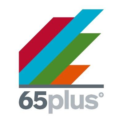 Uitzendbureau 65plus logo