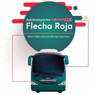logotipo de la empresa Flecha Roja