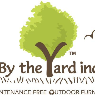 BY THE YARD logo