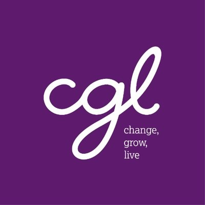 CGL (Change, Grow, Live) logo