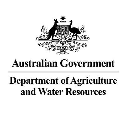 Australian Government Department of Agriculture and Water Resources logo