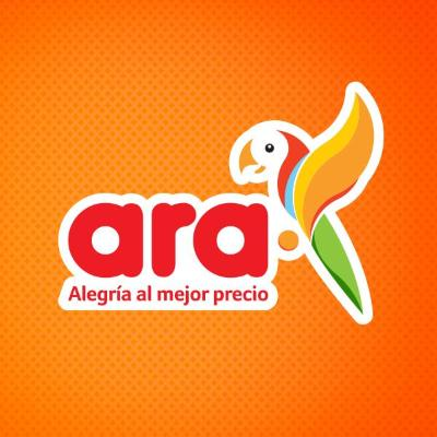 logotipo de la empresa Tiendas Ara