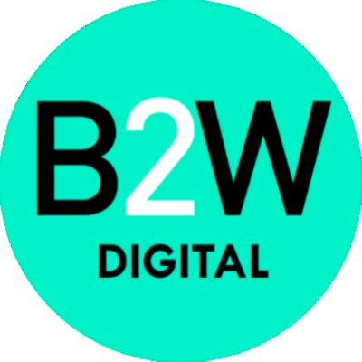 Logotipo - B2W Companhia Digital