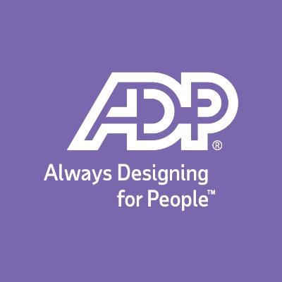 logotipo de la empresa ADP