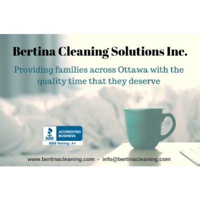 Bertina Cleaning Solutions logo