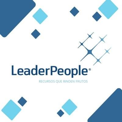 logotipo de la empresa Leader People