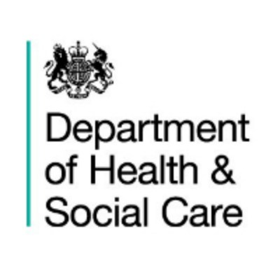 UK Government - Department of Health and Social Care logo