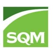 logotipo de la empresa SQM