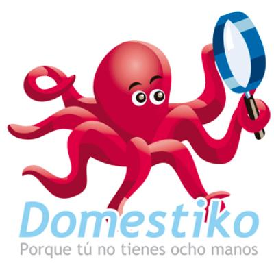 logotipo de la empresa Domestiko