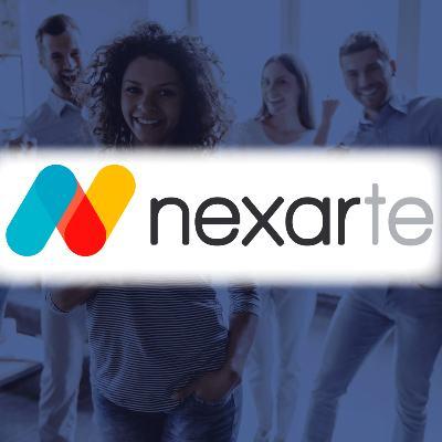 logotipo de la empresa Nexarte