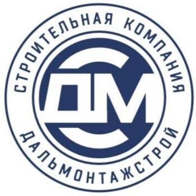 Лого компании Дальмонтажстрой