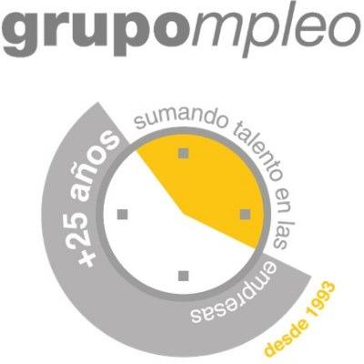 logotipo de la empresa Grupompleo