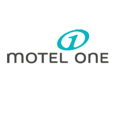 logotipo de la empresa MOTEL ONE