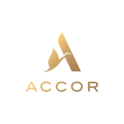 logotipo de la empresa Accor