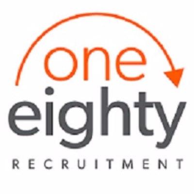 one eighty recruitment logo