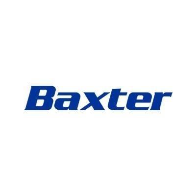 logotipo de la empresa Baxter