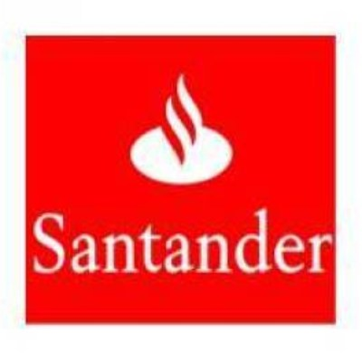 logotipo de la empresa Grupo Santander