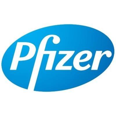 logotipo de la empresa Pfizer