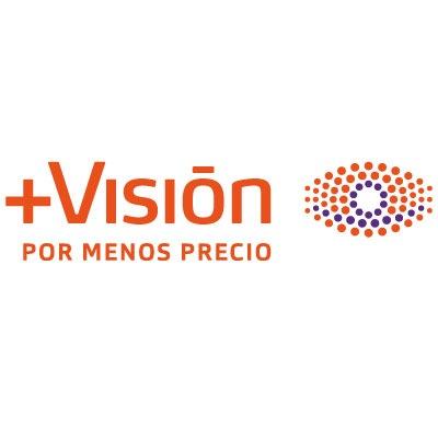 logotipo de la empresa Ópticas +Visión