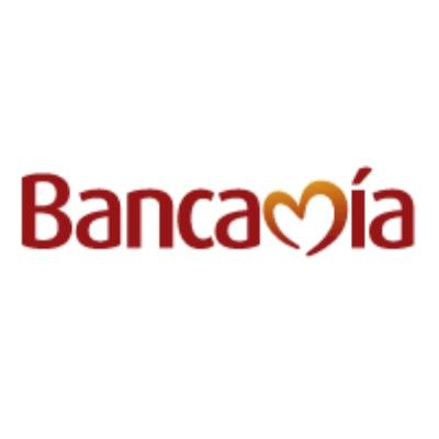 logotipo de la empresa Bancamía