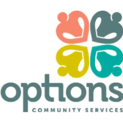Options Community Services logo
