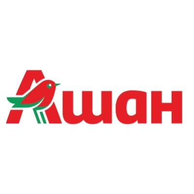 Лого компании Ашан