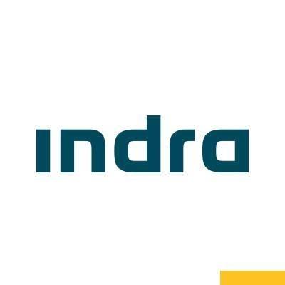 logotipo de la empresa Indra