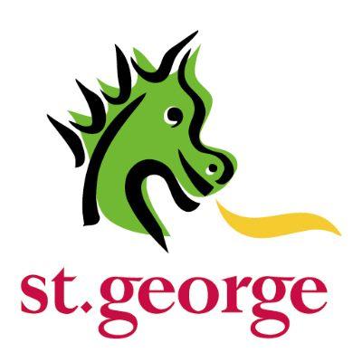 logotipo de la empresa St George Bank