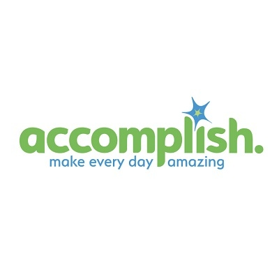 accomplish. logo