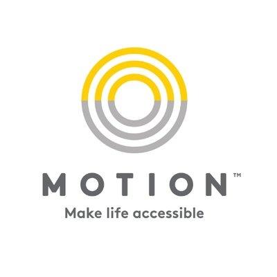 Motion Cares logo