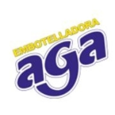 logotipo de la empresa Embotelladora Aga