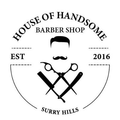 House of Handsome Barber Shop logo