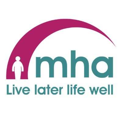 Methodist Homes (MHA) logo