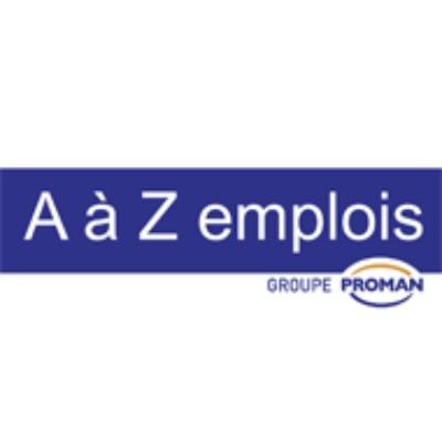 Logo A à Z emplois SA