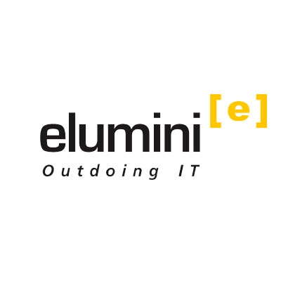 Logotipo - Elumini Outdoing IT