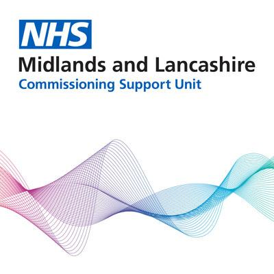NHS Midlands and Lancashire Commissioning Support Unit logo